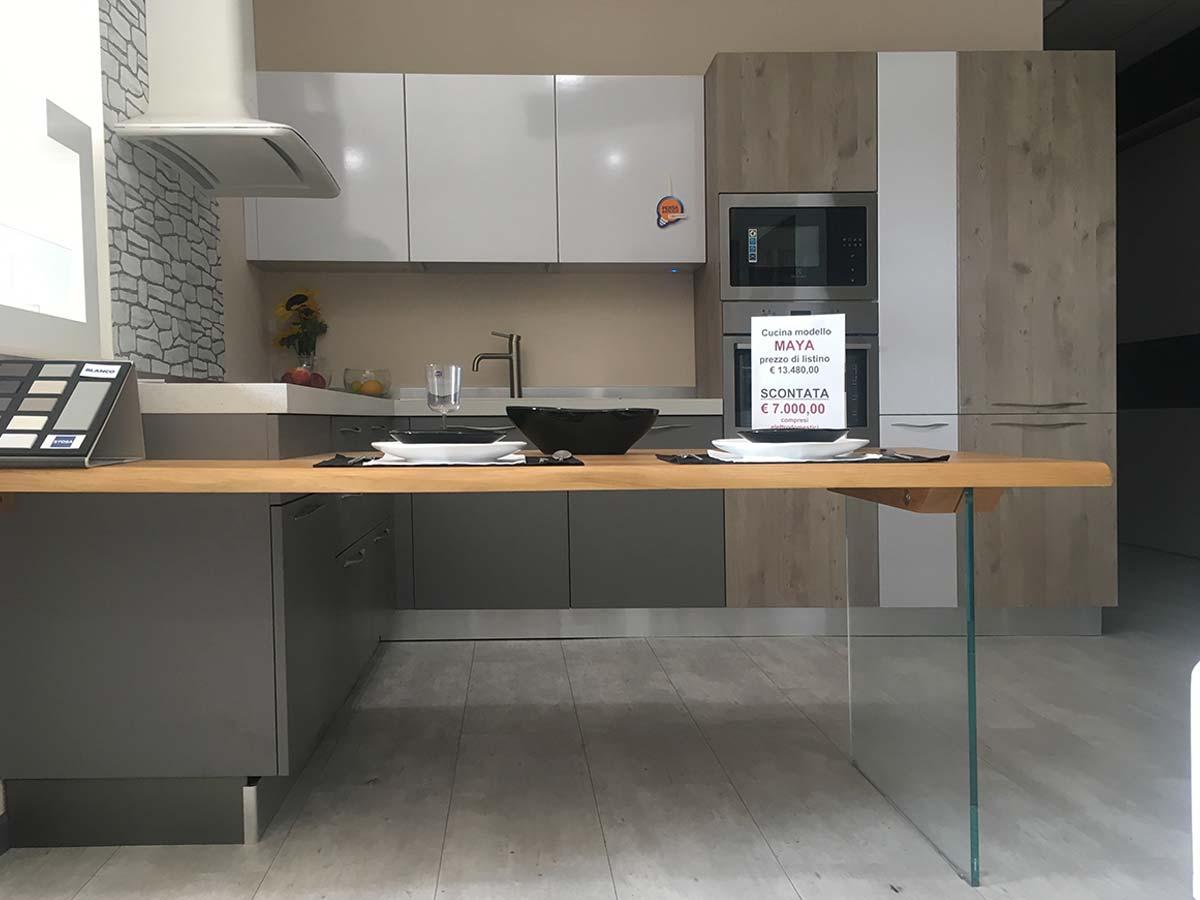 Sestolegno cucine stosa a isola Firenze - SestoLegno